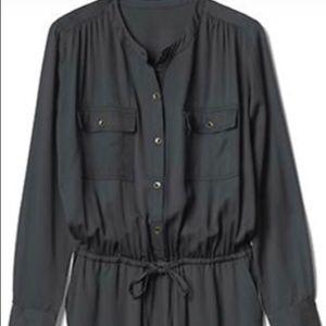 Gap button down jumpsuit